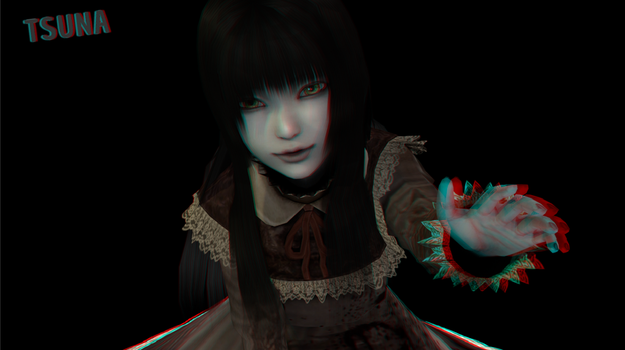 Special render - Ayako 3D by OTsunaO