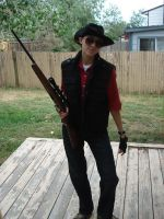 Team Fortress Sniper Cosplay by RebelATS