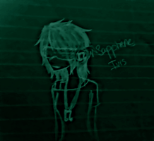 Old Homestuck OC - Sapphiene Ivis by Ask-ErikandOthers