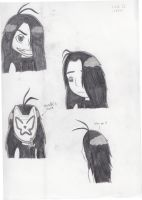 My Lovely Wrath Doodles by Angel-Sweetheart