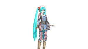 .:DT Gallia Squad 7 Miku DL:. by ChocoFudge98
