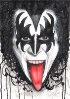 Gene Simmons by Drimr