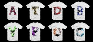 T-Shirt Letter Collection by Gurez