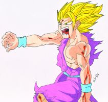 Gohan by MikeES