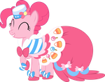 Joyous Pinkie Pie Vector by Lextsy