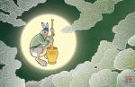 Moon Hare by Wolfberry-J