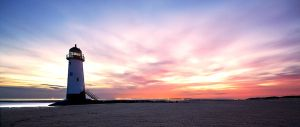Talacre at Sunrise by CharmingPhotography