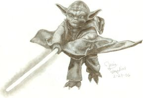 Yoda the Evil Green Potato by CrazyInsaneJess