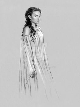 Padme -Sleeping Gown by jasonpal