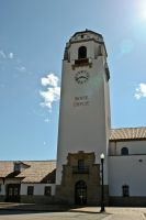 Depot Bell and Clock Tower by ShawnHenry
