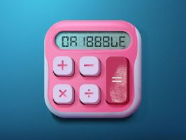 Calculator Icon by indioglossia