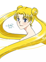 Sailor Moon 30min sketch by pic-char