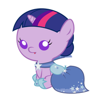 Baby Twilight Sparkle's Gala Dress by Beavernator