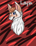 Layla Outline by VyrenTheWolfDragon