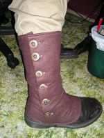 Brown wool spats 1 by stmpnk