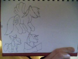 Large Pony picture WIP by Lockian