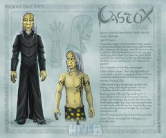 Character Sheet - Castox by Draco-Stellaris