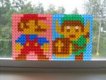Pixelblocks - Mario and Link by expwnit