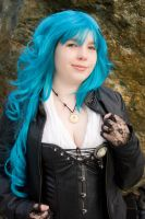 Turquoise Steampunk by bluepaws21