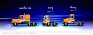 Little Trucks HD Icons 4 Mac by chicho21net