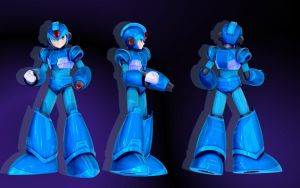Megaman X WIP by GS-Mantis