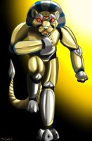 Robot Lion by TieWolf