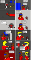Project:World Domination Page4- Back to work by DabZen