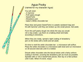 Agua Pocky by UtterPsychosis