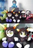 Homestuck Plushie Group by 20f3