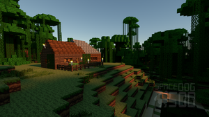 Minecraft Dschungelhaus by SpaceDog500
