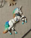 Rainbow Unicorn - wall ornament by RegnumLaternis