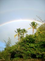 colored sky of hawaii by 00MRSky00