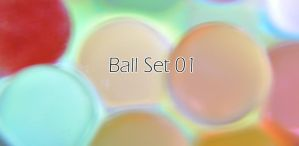 Ball Lighting SET 01 by tesumii