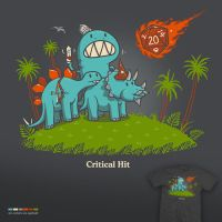 Critical hit - tee by InfinityWave