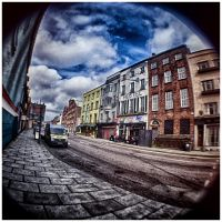 a street in Cork by Demonoftheheavens