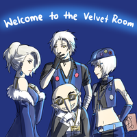 Persona - Welcome the Velvet... Club?! by Sealkittyy