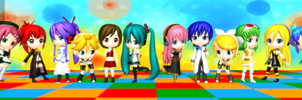 Cast For MMD Comic(s) by animezloverz