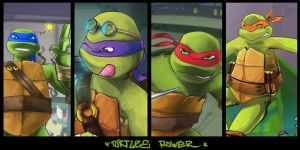 Turtles Power! by K0niks