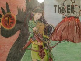 The Elf (a hobbit Fanmade) recolored by Jenssiej
