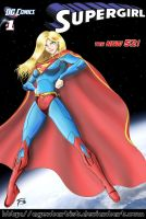 Supergirl : The New 52 by AgentArtist