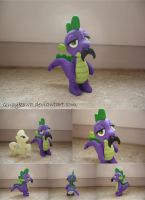 MLP Spike FIMO by Qucykowa