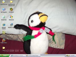 Penguin Desktop by BlooDaBeast