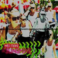 We Can Make The Sun Shine  Miley Cyrus Blend by AnelEditons