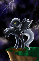 AT with Chibi-BlackDoom by Genetta-TO