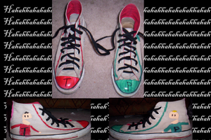 Terrence and Phillip shoes by mooseyhat