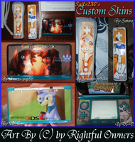 Tails230's Custom 3DS and WiiRemote Skins by Tails230
