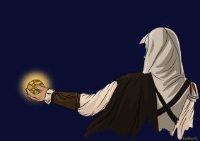 Ezio s got the Apple by xxDodkaXx