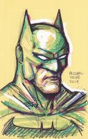 Batman (form sketch)2014 by myconius