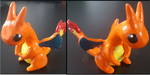 Cute Clay Charizard by Teh-Stonefire-dragon