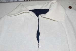 18th Century Shirt- Collar I by crookedpin